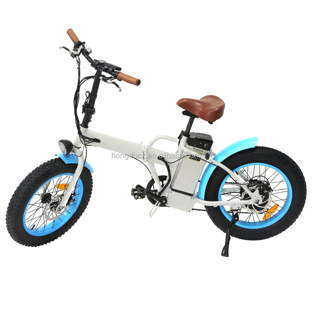 Foldable En15194 350W E-Bike Disk Brake Electric Bicycle Lithium Battery Brushless Motor Fat Tire Folding Electric Bike