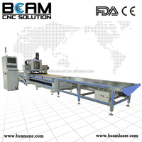 China cnc router machine factory directly sale the high performance cnc wood cutting and engraving machine with the auto feeding