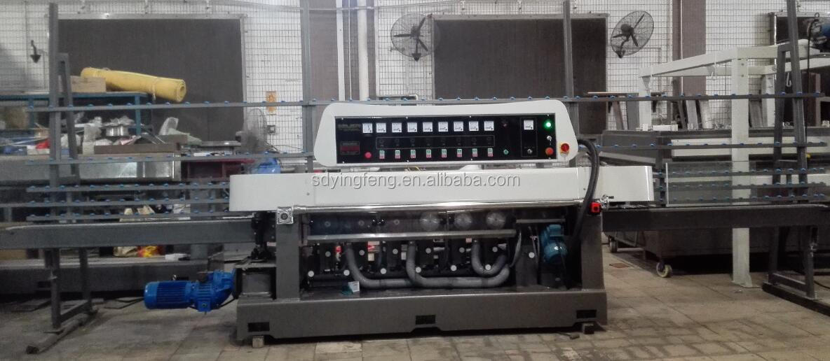 JFR-222 Glass straight line round edge grinding and polishing machine
