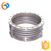 corrugated metal bellow expansion joint pipeline compensator