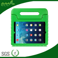 2016 portable Silicone kids tablet protective case for ipad with handle