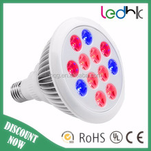 3:1 Par38 led grow lights led plant light 9W E27 led bulb