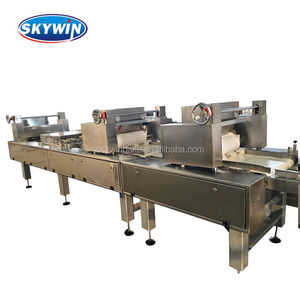 Skywin Mini Capacity Gas Oven Flat Wafer Biscuit Production Line