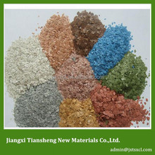 Chemical product mica for exterior wall paint
