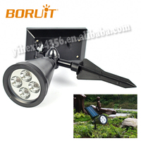 Automatical working Charing 4pcs LED Solar Garden Light Solar Flood Light