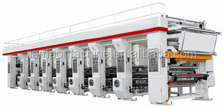 Digital Flexo Printing Paper Gravure Printing Machine