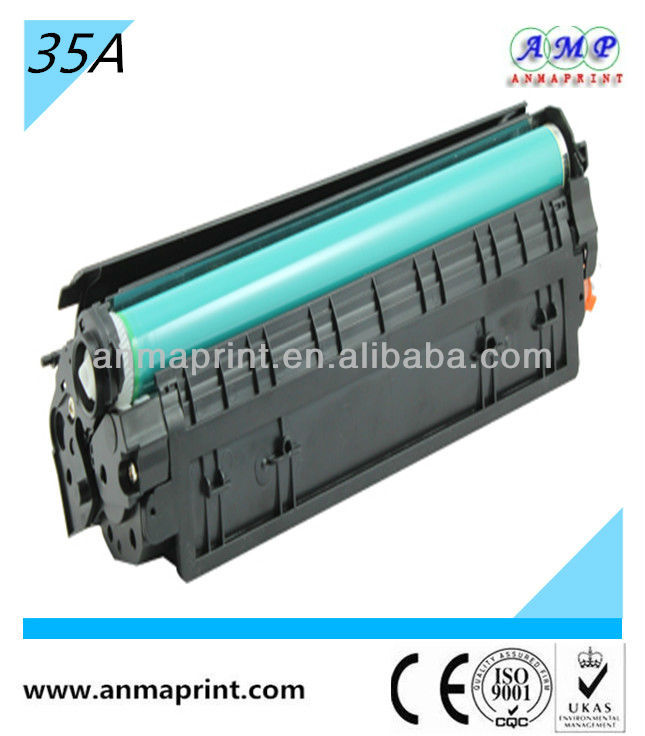 Laser jet printer toner cartridge products CB435A for HP printer parts