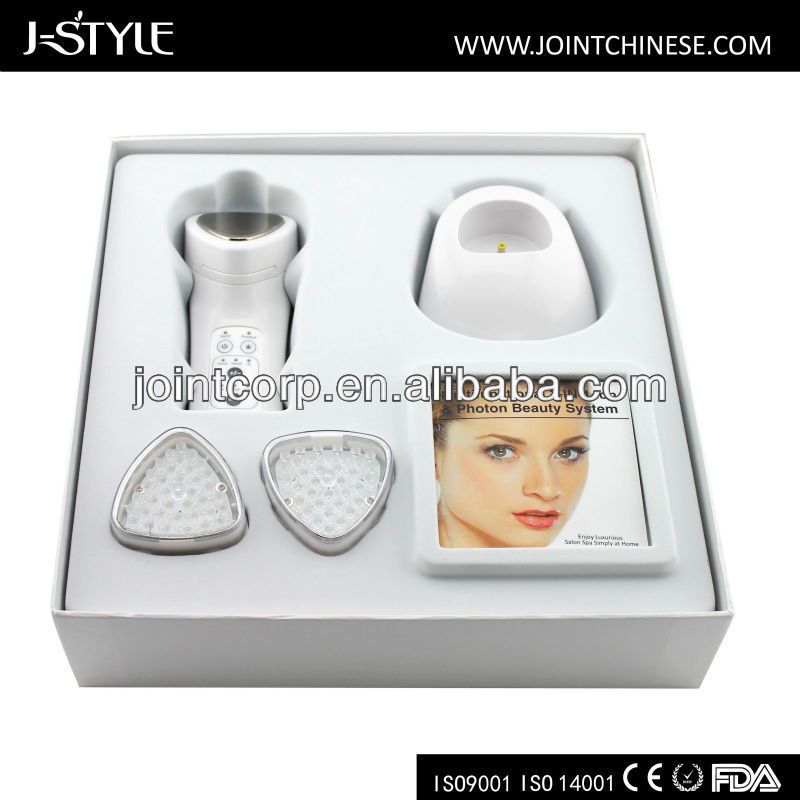 J-style multi function LED light face beauty device salon equipment packages