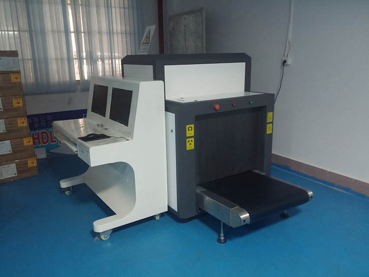 Airport Cargo Luggage Security Detector X-ray Scanner Equipmetn TEC-8065 x ray baggage scanner