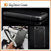 China factory case for iphone 5, carbon fiber cell phone case carbon fiber cover