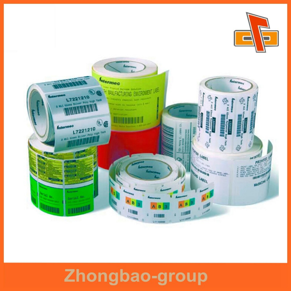 Guangzhou vendor wholesale flexo printing custom adhesive labels for food containers