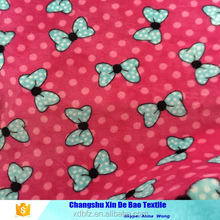 100% polyester Flannel fabric painting cartoon designs