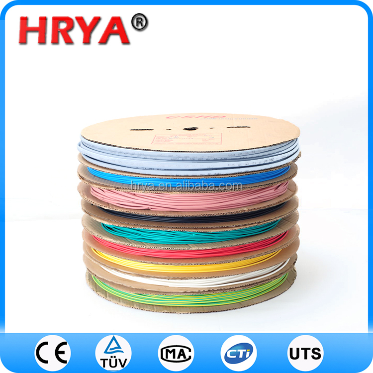insulation busbar heat shrink tube 24kv waterproof hongshang heat shrink tube