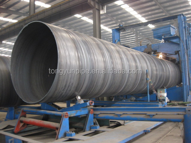 API 5L PSL2 X52 26 inch SSAW welded spiral steel pipe for oil and gas made in China