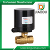 suitable for HVAC and status control electric motor operated brass valve