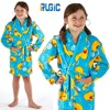 Children Girls Kids Dressing Gown Fleece