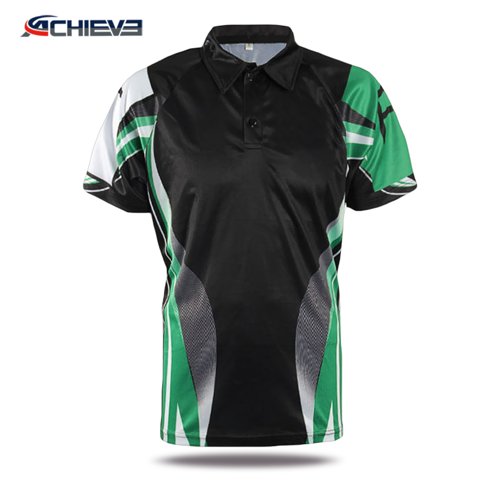 Summer quick dry hawaiian polo shirt,polyester polo shirt custom design