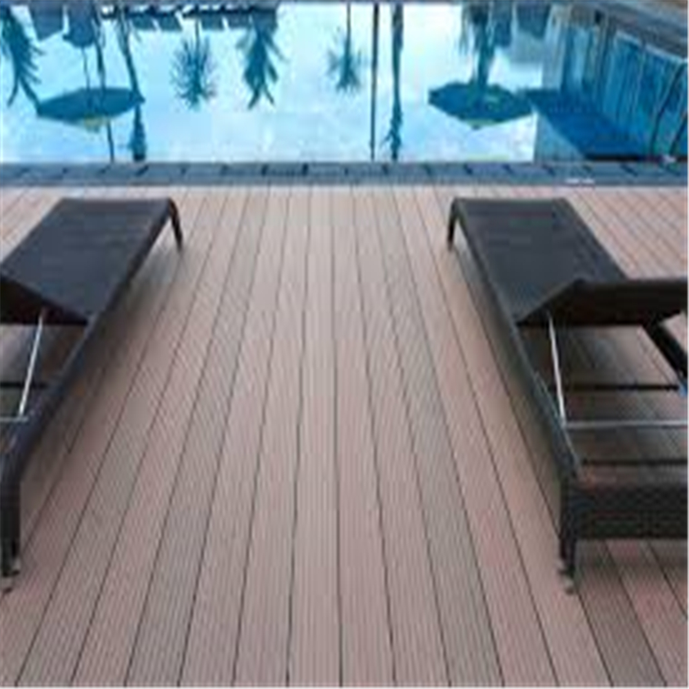 Waterproof Decking Plastic Flooring Composite Wood Decking