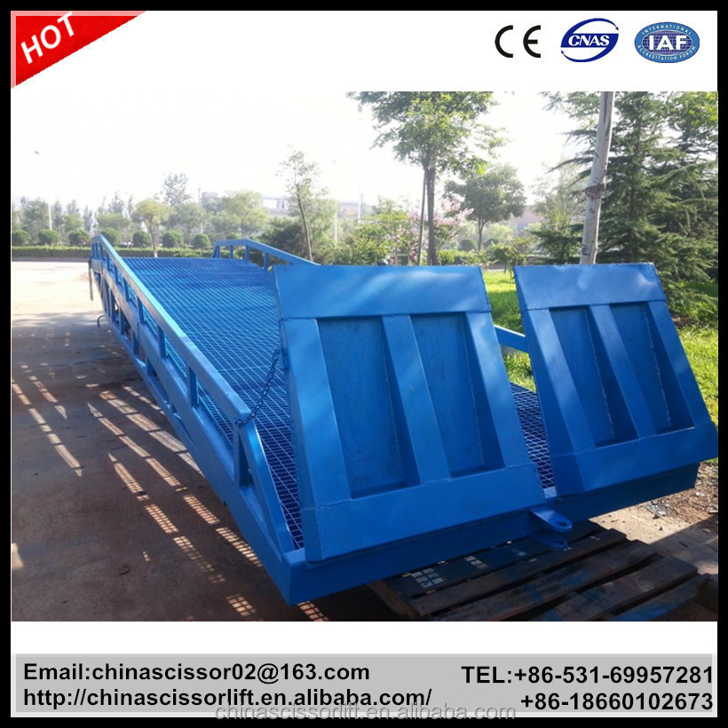 4t Heavy Duty Good Quality Dock Leveler Container Loading Equipment