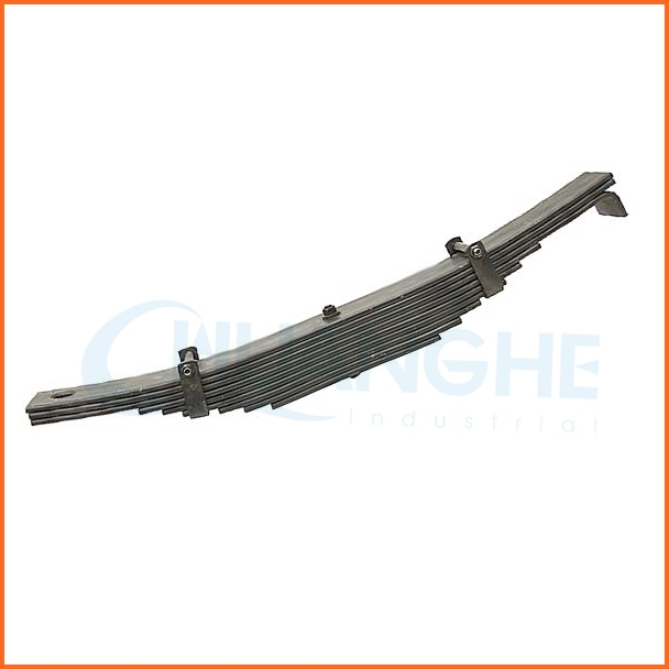 China dong guan spring supplier heavy duty truck leaf spring
