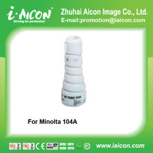 Compatible copier minolta ep-1054 EP1054 toner cartridge 104A 104B