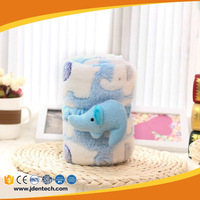 Alibaba kids favorite lovable elephant coral fleece back support cushion