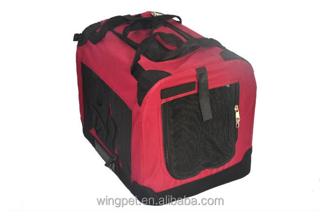 Pet Foldable Dog Soft Crates deluxe Pet Travel Carrier