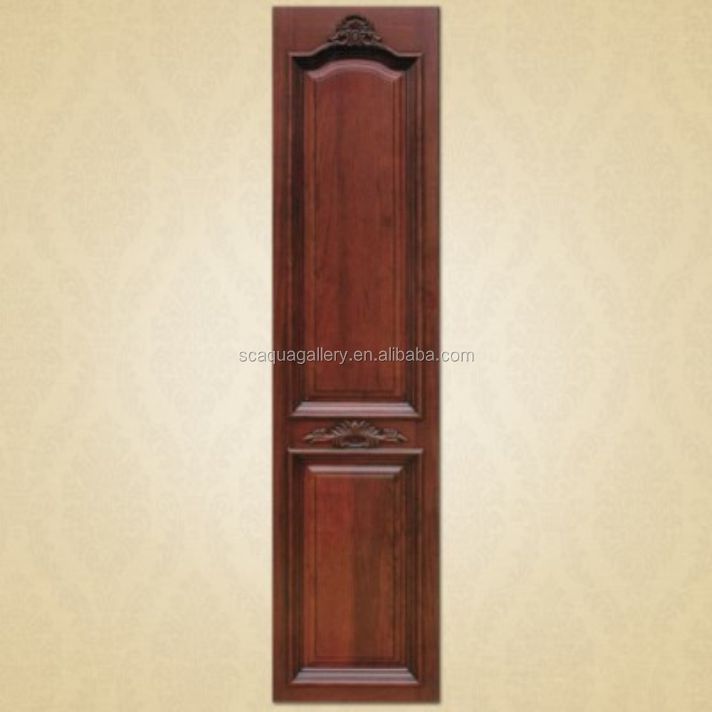 Cherry Wood Material Walk In Closet Door