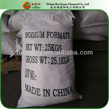 By product process 97% sodium formate for industrial use