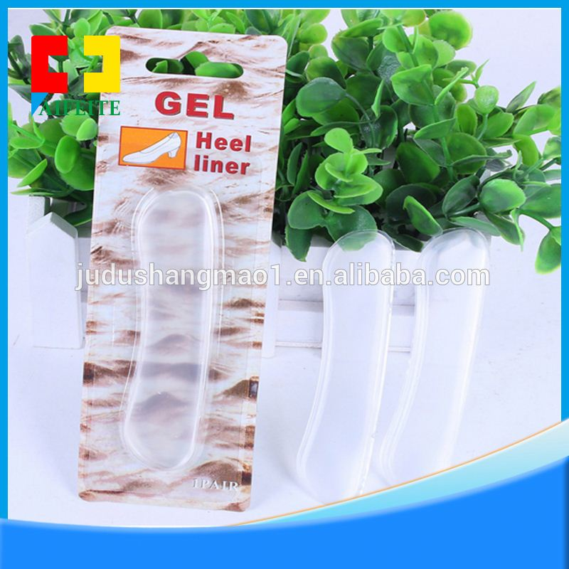 Height Increased Comfort Silicone Heel Cup Thicken Gel Foot pads for Men