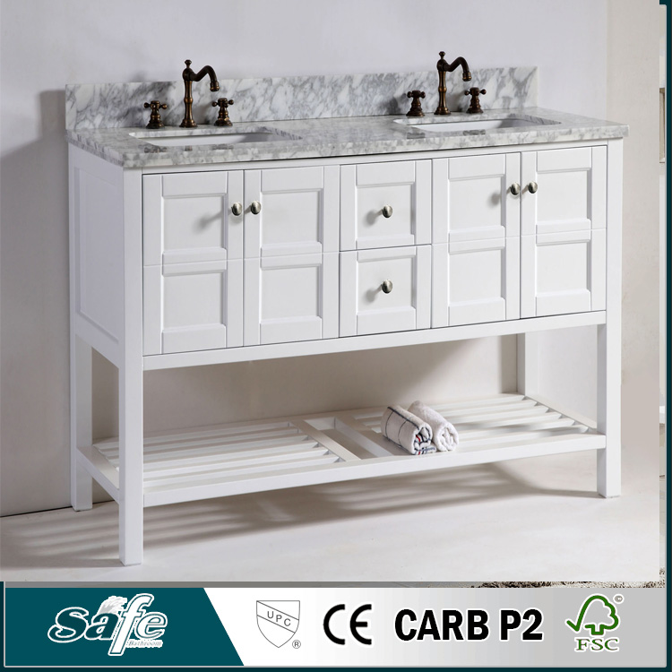New china products for sale double sink bathroom furniture