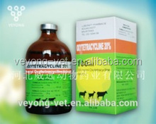 10% Oxytetracycline injection for antibiotic drug for veterinary drugs horses