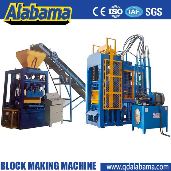 Made in china fault diagnosis system concrete stationary brick machine