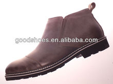 Top selling high neck genuine leather shoes for men 2013