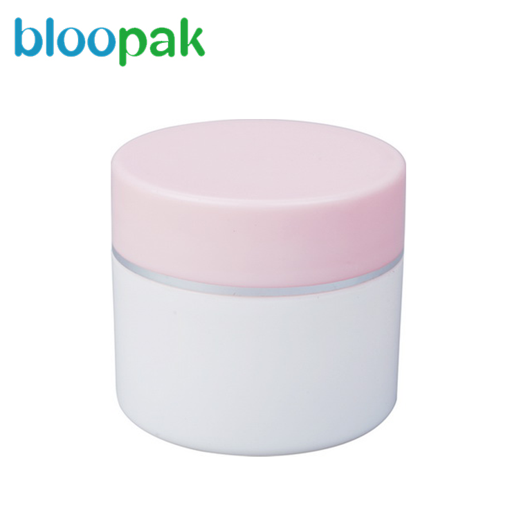 double wall/layers lotion PP plastic jar for cosmetic packing