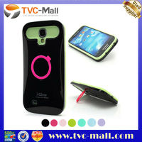 i-Glow Noctilucent Silicone PC Hybrid KickStand Case for Samsung Galaxy S4