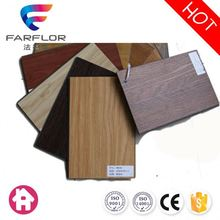 New material easy to clean noble vinyl flooring for living room