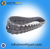 small excavator / snowmobile/ ATV rubber tracks /tractor /harvester
