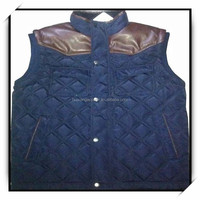 quilted leather biker vest cheap life vest men