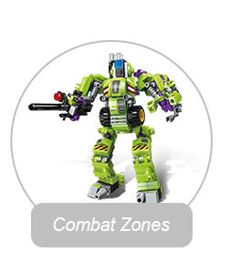 Qman Guardião da Série Núcleo da Estrela Transformar Robô De Combate blocos blocos de construção definido Compatível Legoing