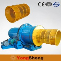 Mining Rotary Drum Clay Log Washer / Trommel Scrubber Clay Wash Plant