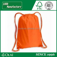 High quality nylon polyester drawstring bag,nylon drawstring laundry bag