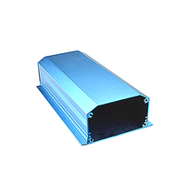 heat sink aluminum enclosure box aluminum profile extrusion electrical enclosure for electronic project