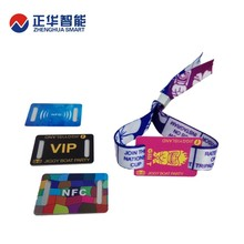 high quality rfid woven wristbands tag with competitive price