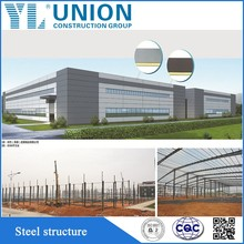 china factory steel frame/metal frame/iron frame building as the workshop,warehouse supplier