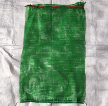 Hot sale high quality raschel mesh bags for vagetables and fruits