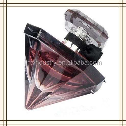 100ml diamond glass perfume spary bottle for men and women