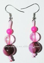 Earring Match diy sets with glass beads