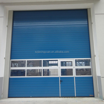 Strong And Durable Reinforcement Industrial Sectional Door