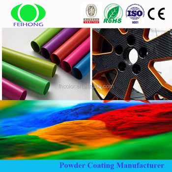 Colorful powder coatings powder manufacturer for metal reflective warning board